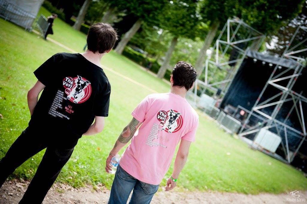 Festival du Thé Vert 2016 - T-Shirts
