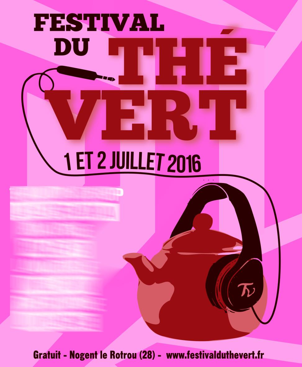 Festival du Thé Vert 2016 - Poster proposition 2
