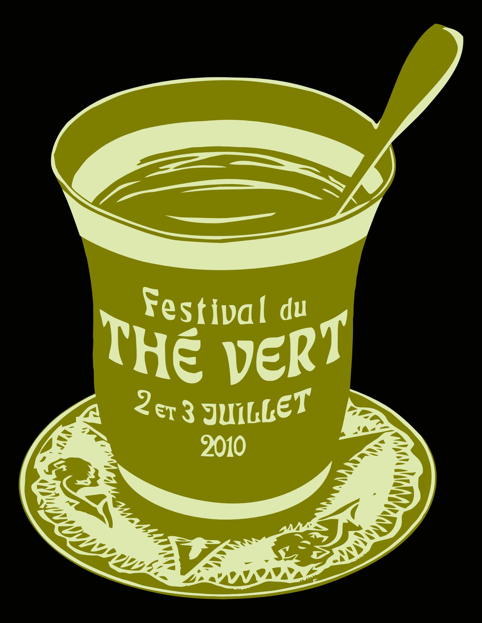 Festival du Thé Vert 2010 - T-Shirt avant