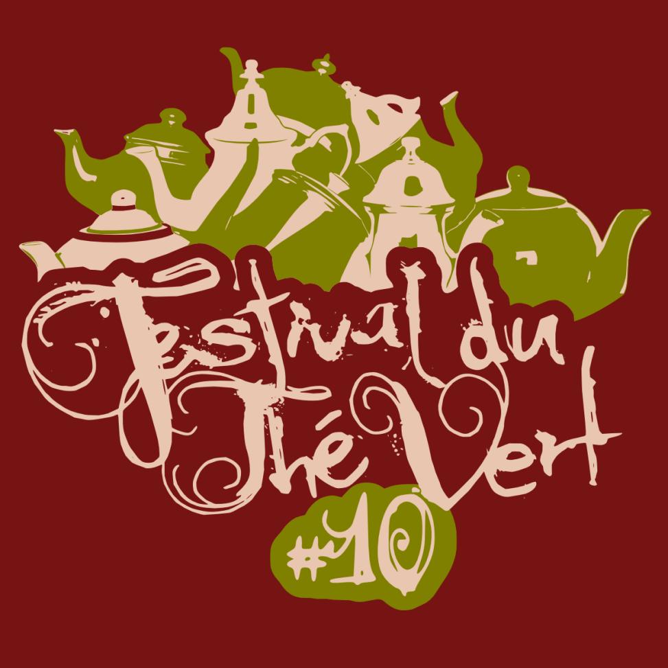 Festival du Thé Vert 2014 - Front T-Shirt