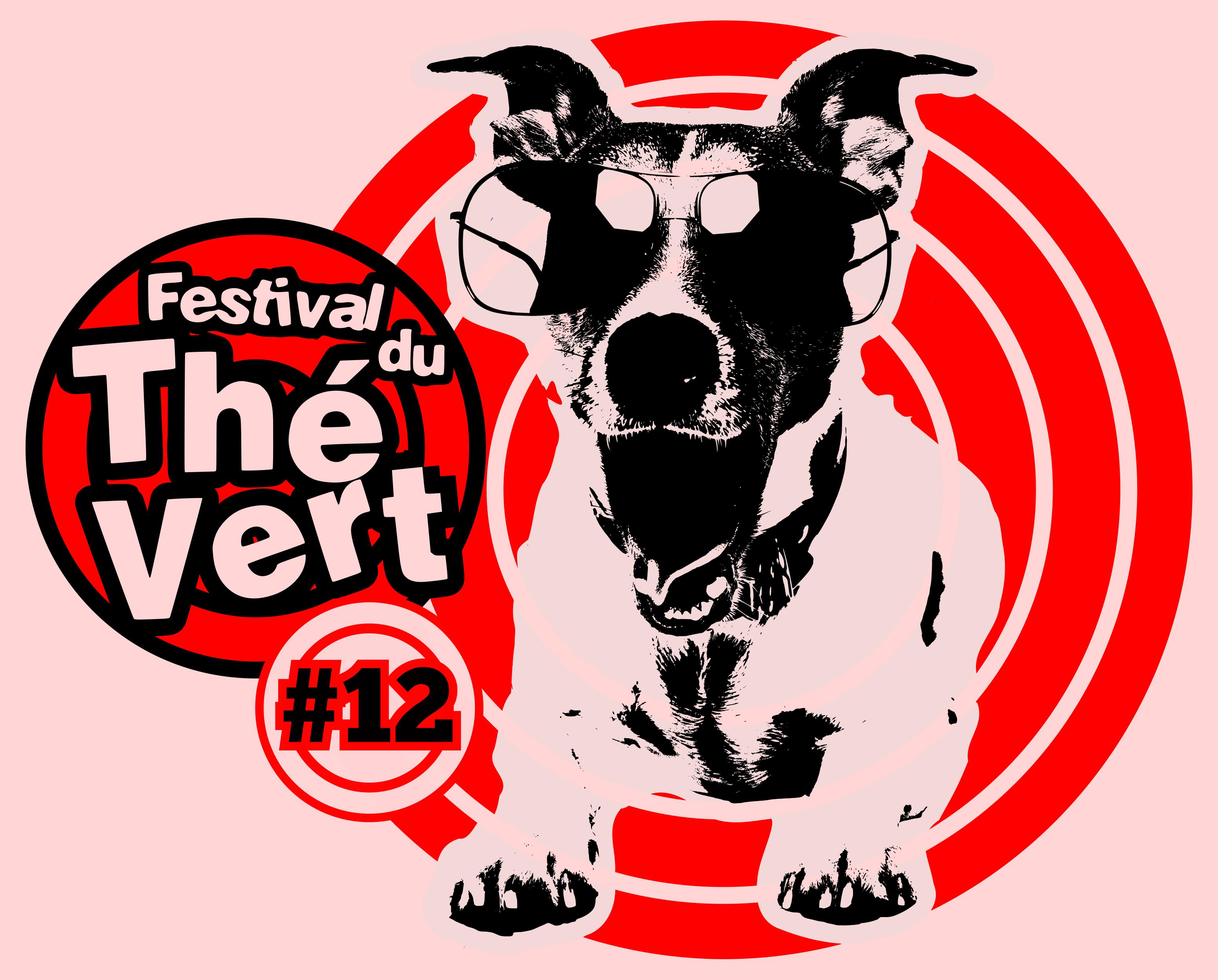 Festival du Thé Vert 2016 - Front T-Shirt