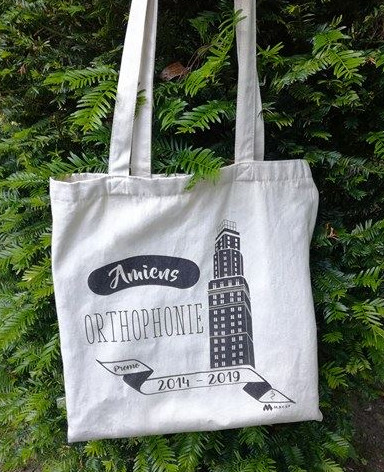 Tote bag for the Amiens Speech Therapy students